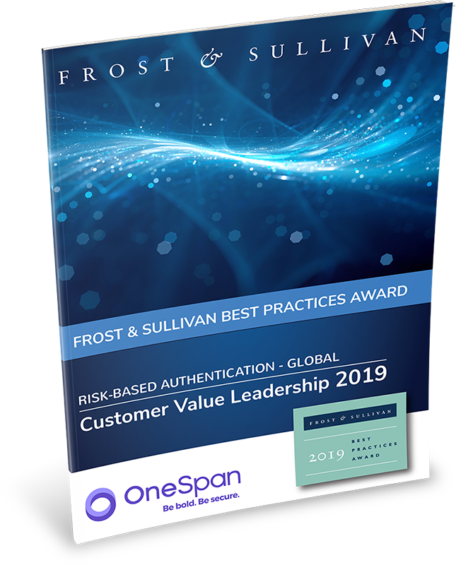 Report-Frost&Sullivan-risk based authentication onespan