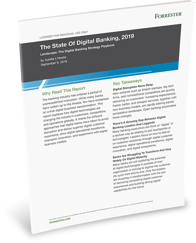 Forrester-The State Of Digital Banking-onespan