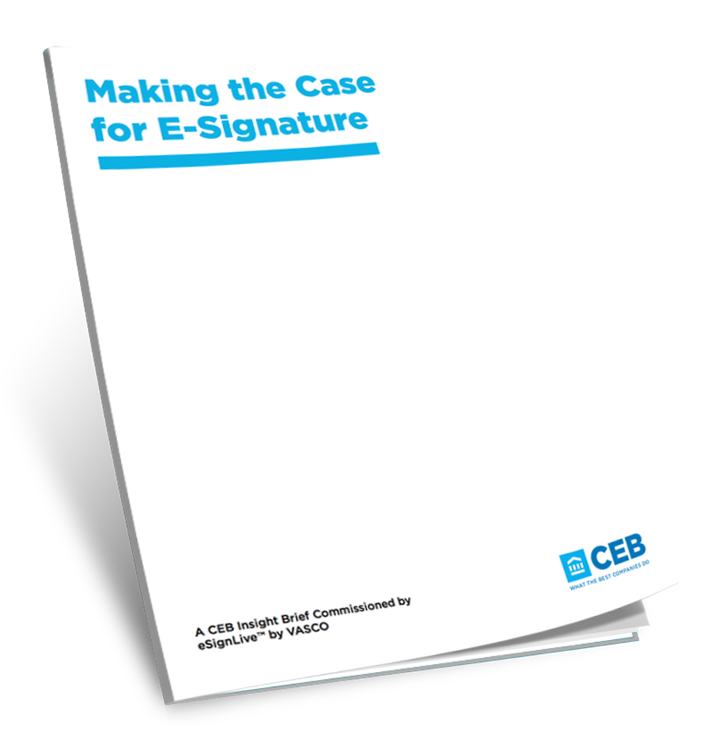 CEB-Insight-Making-The-Case-for-E-Signatures onespan