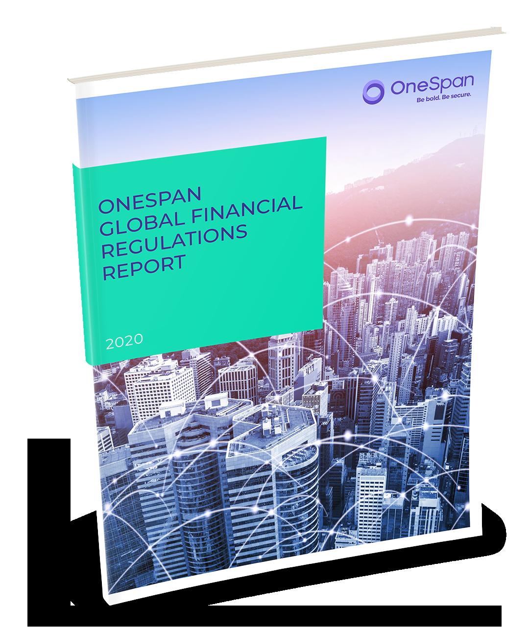 2020 Global Regulatory Financial Report Cover Image