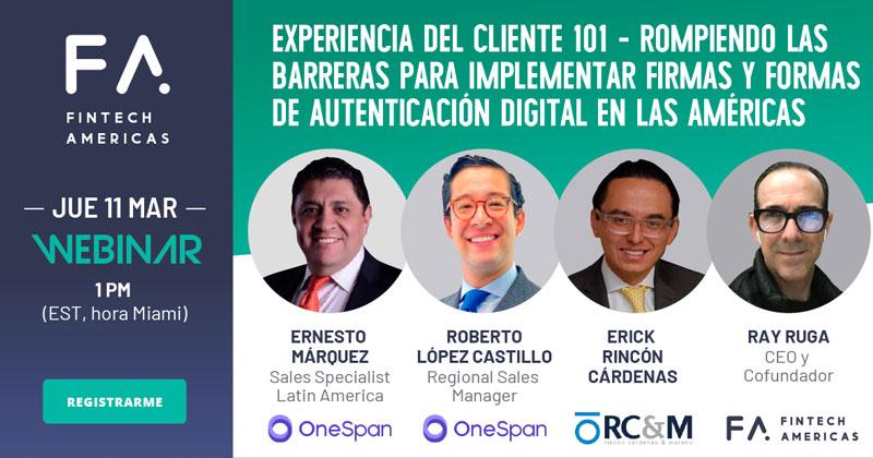 Webinar   Experiencia del cliente 101: Rompiendo las barreras para implementar firmas y formas de autenticación digital en las Américas