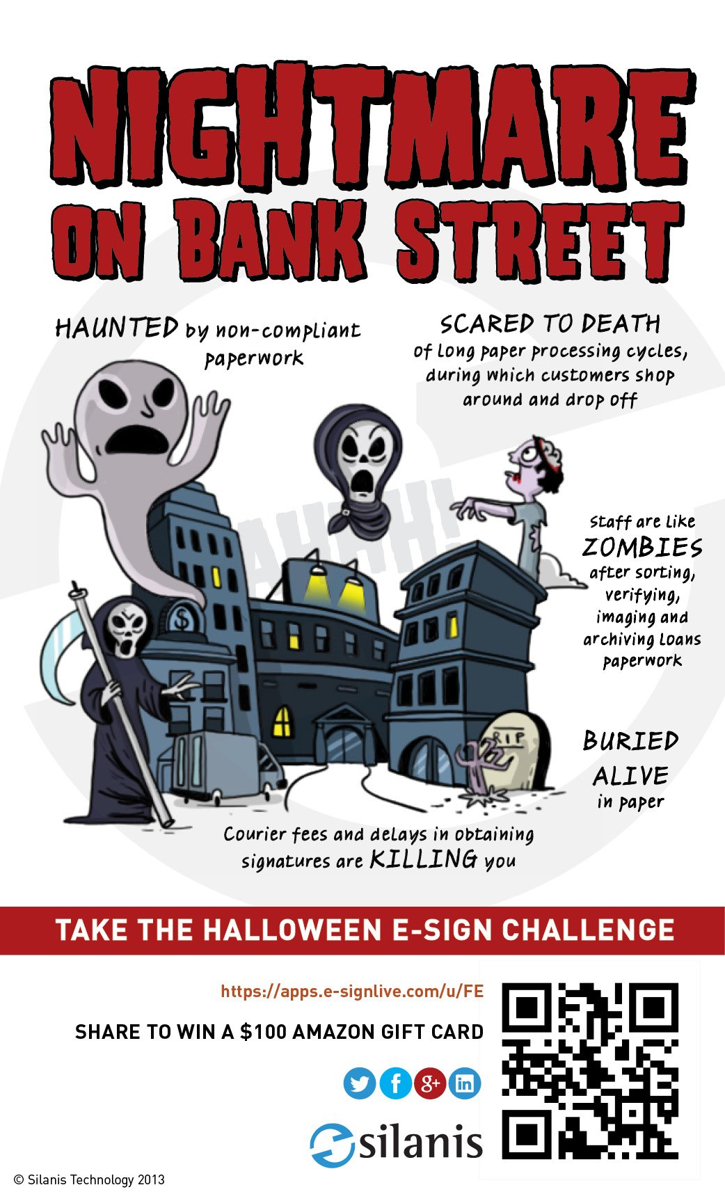end the nightmare on bank street – take the halloween e-sign