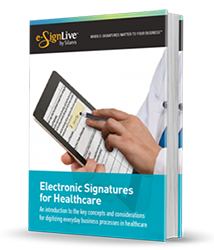 Electronic Signatures for Healthcare