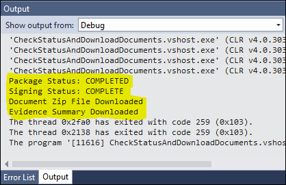 visualStudioOutput_downloadComplete