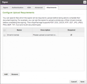 eSignLive How To: Requesting Attachments | OneSpan