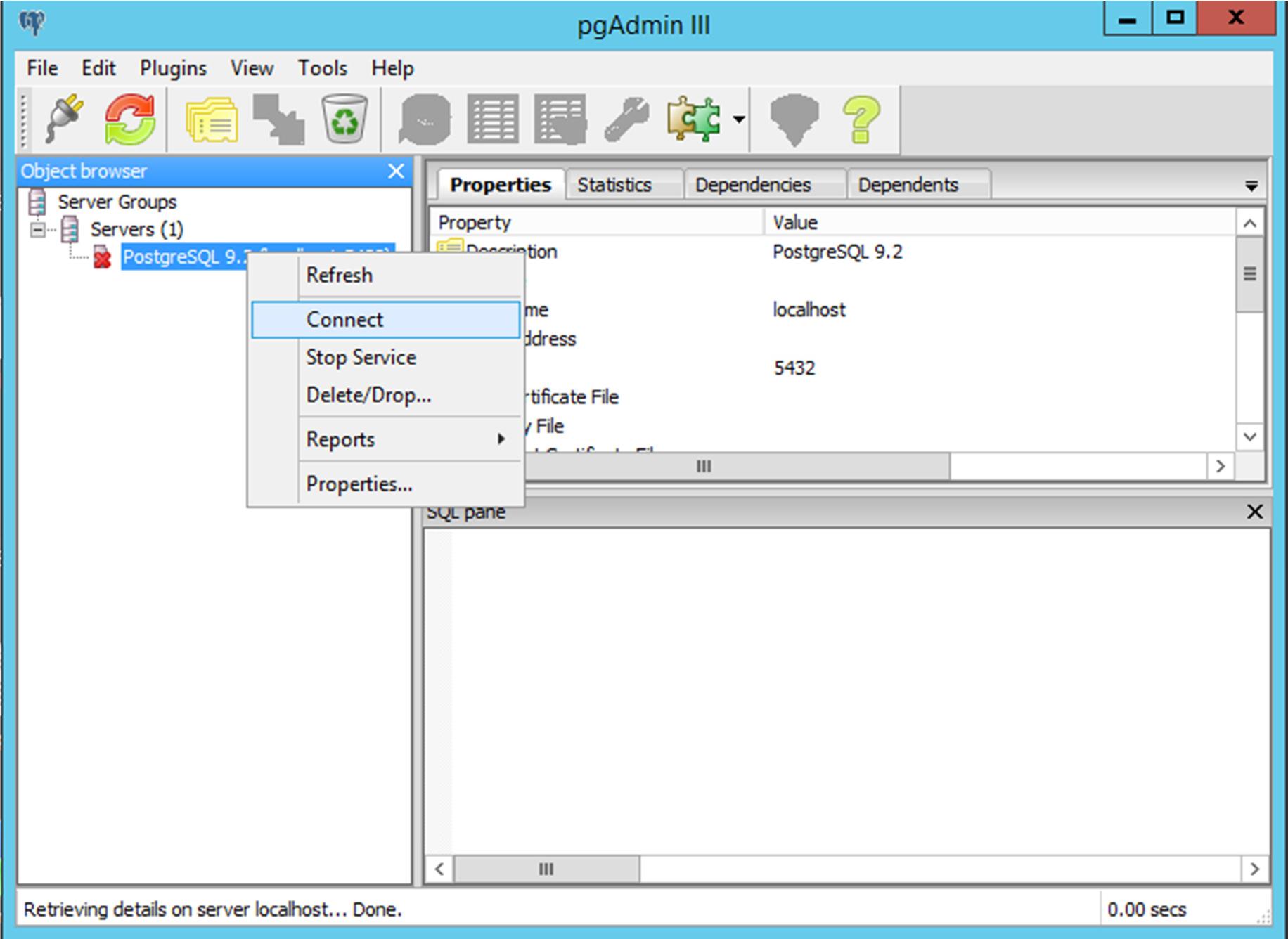 KB_160049: Create a PostgreSQL user for backups