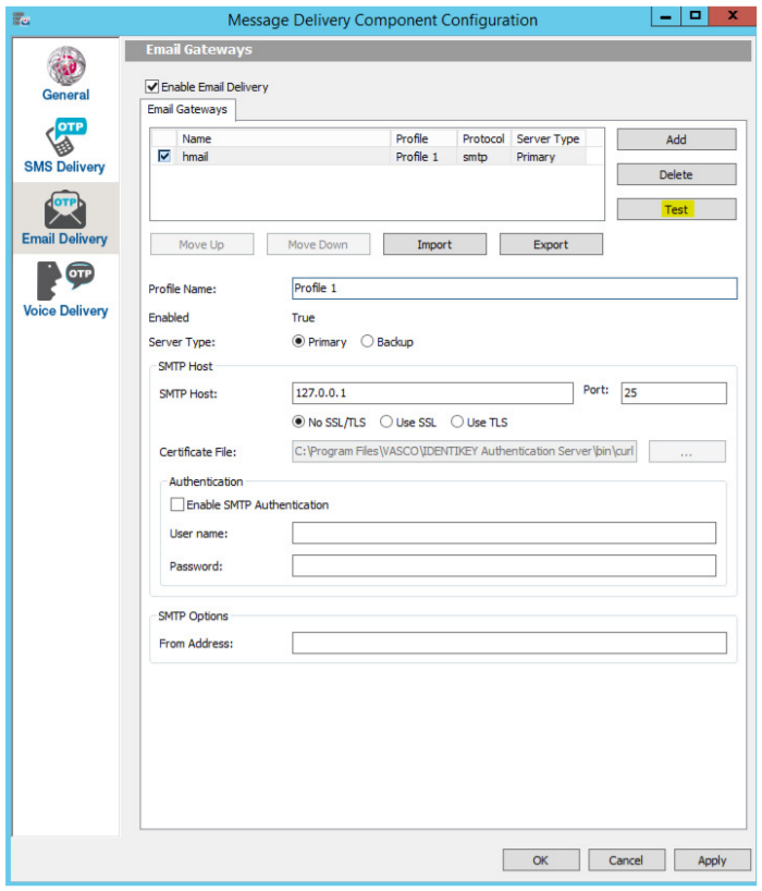 KB_160118: How to configure the IDENTIKEY Authentication Server